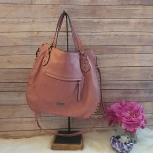 Jessica Simpson hobo style purse w/crossbody strap